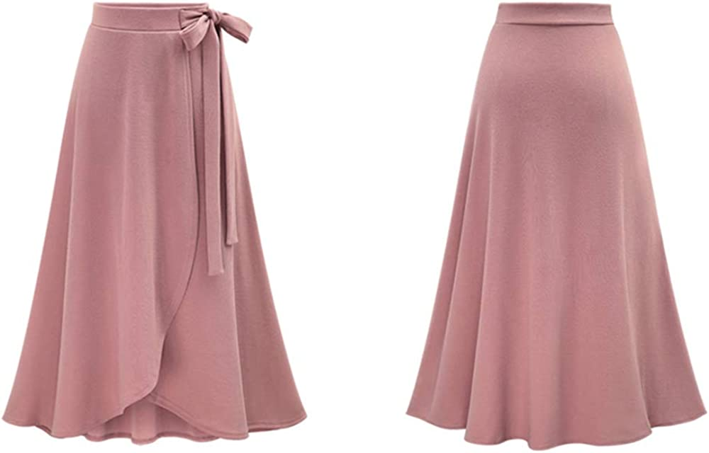 Women's Skirt Fashion New Ruffled Lace Skirt Casual High Waist Solid Color Skirt Three Color Choice M To 6XL Size