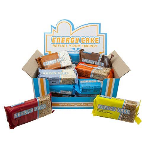 E.L.F Energy Cake - verschiedene Sorten und Mix Box 10x125g, 20x125g, 30x125g, 40x125g + 1 x 25g Beutel C.P. Sports Iso Whey GRATIS (MIX-Box, 10 Riegel)
