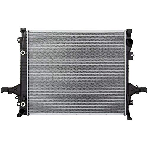 Klimoto Radiator With 1 1/4 Inch Thick Core | fits Volvo XC90 XC60 XC70 1.6L 2.0L L4 2.5L L5 2.9L 3.2L 3.0L L6 4.4L V8 | Replaces VO3010119 8603619 86036191 312935505