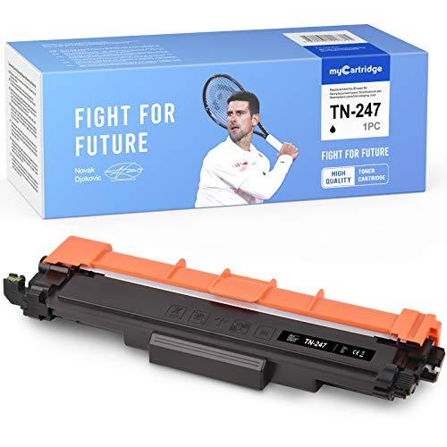 Con Chip-myCartridge Compatibile Brother TN-247BKper Brother HL-L3210CW HL-L3230DW MFC-L3710CW MFC-L3750CDW MFC-L3770 DCP-L3550CDW (Nero)
