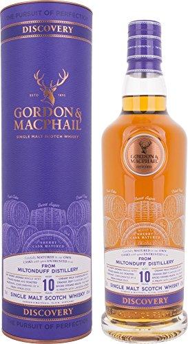 Gordon & Macphail Discovery Miltonduff 10 Year Old Single Malt Scotch Whisky, 70 cl