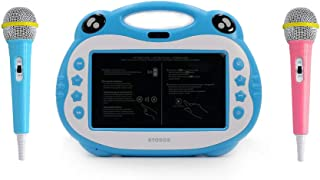 ATOUCH P06 Karaoke Video Learning Tablet With Mic,16GB, 7 Inch 4G (Blue)