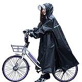 [2020最新版]SHINEZONE レインコート レディース 雨具 自転車 バイク 魔法 レインウェア ロングレインポンチョ おしゃれ 超軽量 防風防水 防塵防雪 雨合羽 雨着 通勤 通学 男女兼用(XXL)