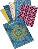Der Zauber Indiens - Grußkarten-Set: 8 Klappkarten mit Kuvert, 4 farbige Motive