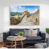 MhY China Die Große Mauer Bilder für Wohnzimmer Leinwand