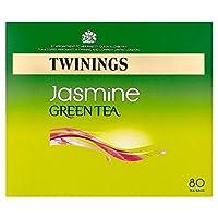 1パックトワイニンググリーンティー&ジャスミン80 (x 4) - Twinings Green Tea & Jasmine 80 per pack (Pack of 4) [並行輸入品]
