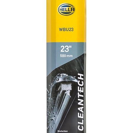 Hella 9xw 358 053 231 Scheibenwischer Cleantech Wbu23 Flachbalkenwischerblatt Für Linkslenker 23 580mm Vorne Menge 1 Auto
