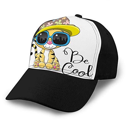 jiilwkie 655 Gorra de béisbol Vaquera Hombres Mujeres Sombreros de Go