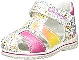PRIMIGI Sandalo Primi Passi Bambina, Pink Multic Fuxia 5365533, 18 EU