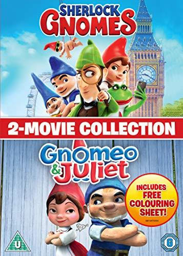 Sherlock Gnomes / Gnomeo & Juliet 2-Film Collection [DVD] [2018]