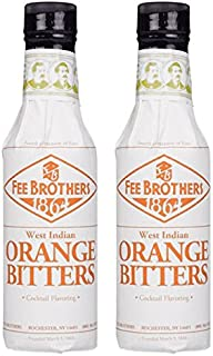 Fee Brothers West Indian Orange Cocktail Bitters - 2 Pack