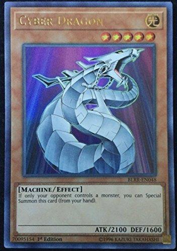 Yu-Gi-Oh! - 3x Cyber Dragon - BLRR-EN048 - Ultra Rare - 1st Edition - NM/M