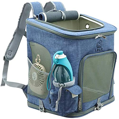 (50% OFF) Portable Backpack Cat Dog Carrier Blue Only $22.95 – Coupon Code