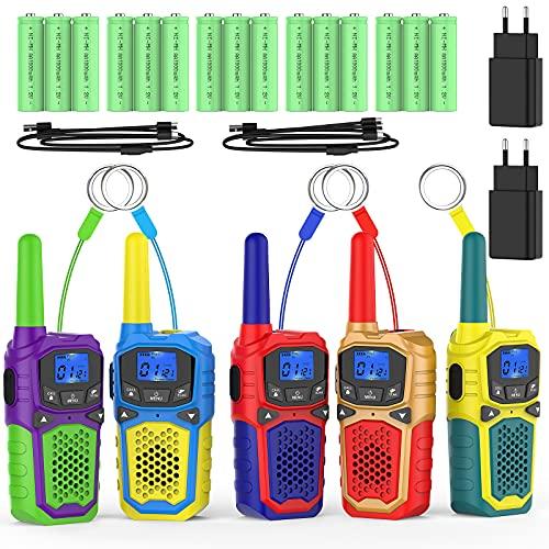 Walkie Talkie Recargable Usb Niños walkie talkie recargable  Marca WokTok