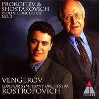 Prokofiev: Violin Concerto No. 2 / Shostakovich: Violin Concerto No. 2 (1997-10-14)