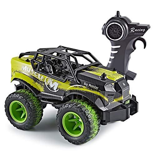 Think Gizmos Ferngesteuertes Auto für Kinder - Große Speed Master RC Auto mit 2,4GHz Fernsteuerung für Kinder (Grün - Speed Master)