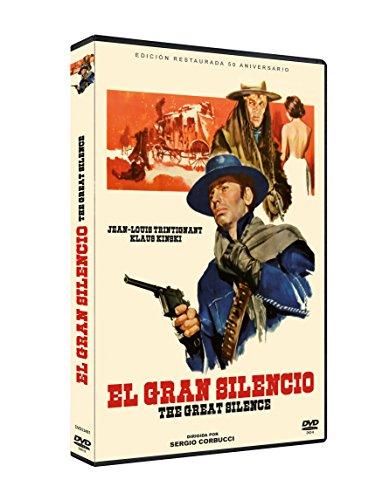 El Gran Silencio DVDr 1968 Il grande silenzio Remasterizada
