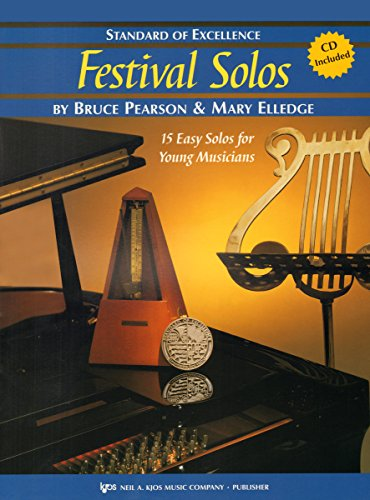 W37TB - Standard of Excellence - Festival Solos Book/CD Book 2 - Trombone