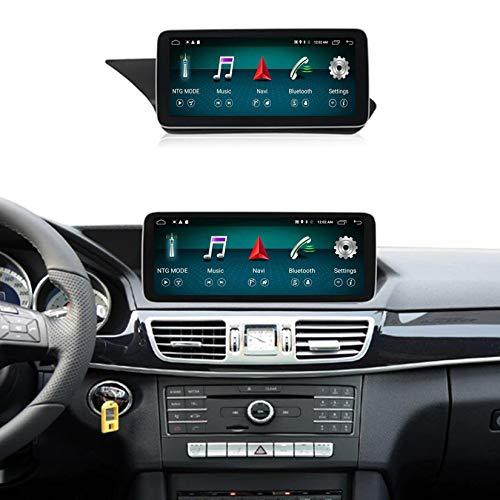 Android Autoradio Pantalla Tactil para Coche Built-In Wireless Carplay 10.25/12.5 Pulgadas Táctil GPS Navegación Car Audio Player Radio para Mercedes Benz E Class W212 2009-2015,Ntg 5.0,N200