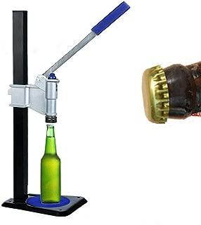 Professional Bench Beer Bottle Capper, Manual Bottle Machine Bottle Cap Sealer for Soda Soft Drink Home Brew Beer (US Shipping)