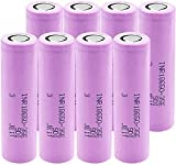 Rechargeable Lithium Batteries INR18650 35E Li ion 3.7v 3500mAh for LED Light Flashlight-10Pieces-8Pieces
