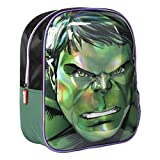 CERDÁ LIFE's LITTLE MOMENTS Mochila Infantil 3D Avengers Hulk, Verde, 31 cm (2100002612)