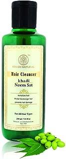 Khadi Natural Herbal Neem Sat Hair Cleanser (Shampoo), 210ml