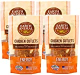 Earth Animal Chicken Cutlets Energy Immune Heart 8oz (4 Pack)