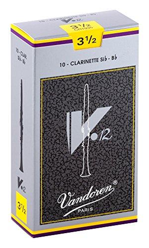 バンドーレンB♭クラリネットリードV.12硬さ:3-1/2(10枚入り)