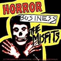 """The MISFITS HORROR BUSINESS, Official Licensed Product, 7.7"""" x 4.2"""" - Sticker DECAL"""