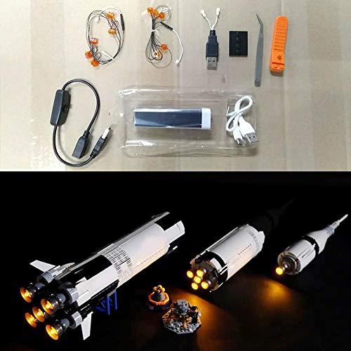 Kit de iluminación LED, bloque de construcción luminoso, para LEGO 21309 (modelo no incluido)