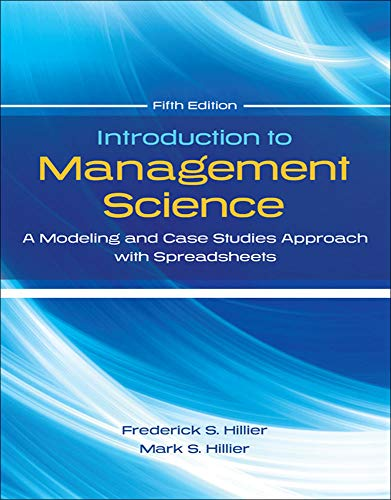 Introduction to Management Science with Student CD and Risk Solver Platform Access Card: A Modeling and Cases Studies Ap