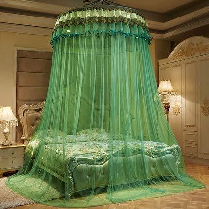 WATERMELON Kid Lit bébé baldaquin Couvre-lit moustiquaire Rideau Literie Romantique bébé Fille Ronde Tente dôme Coton (Color : E)