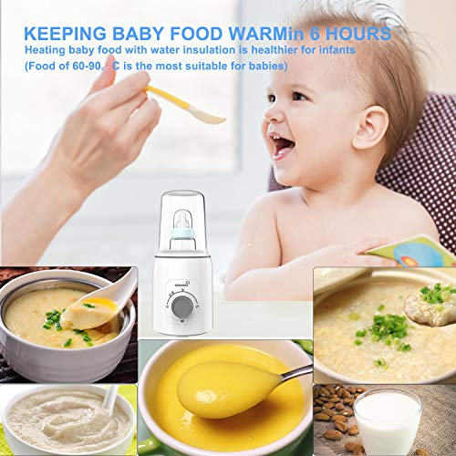 Bottle Warmer, 5-in-1 Fast Baby Bottle Warmer Baby Food Heater