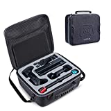 Vanerdun Nintendo Switch Travel Case - Protective Deluxe Carrying Case for Nintendo Switch Console Pro Controller & Accessories