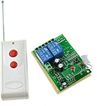 Long Distance RF Switch Transmitters & Receivers DC 12V 2 Channel Wireless Relay Remote Control Switch