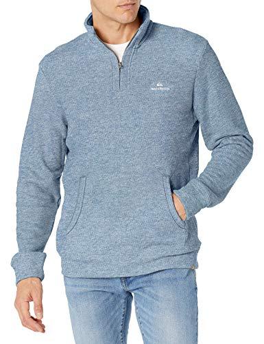 Quiksilver Ocean Nights 2 Half Neck UP Pullover Chaqueta con forro, azul (Estate Blue), XXL para Hombre