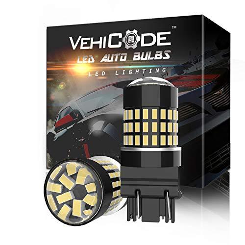 VehiCode 3157 LED Bulb White Light 6000K Bright Kit 3155