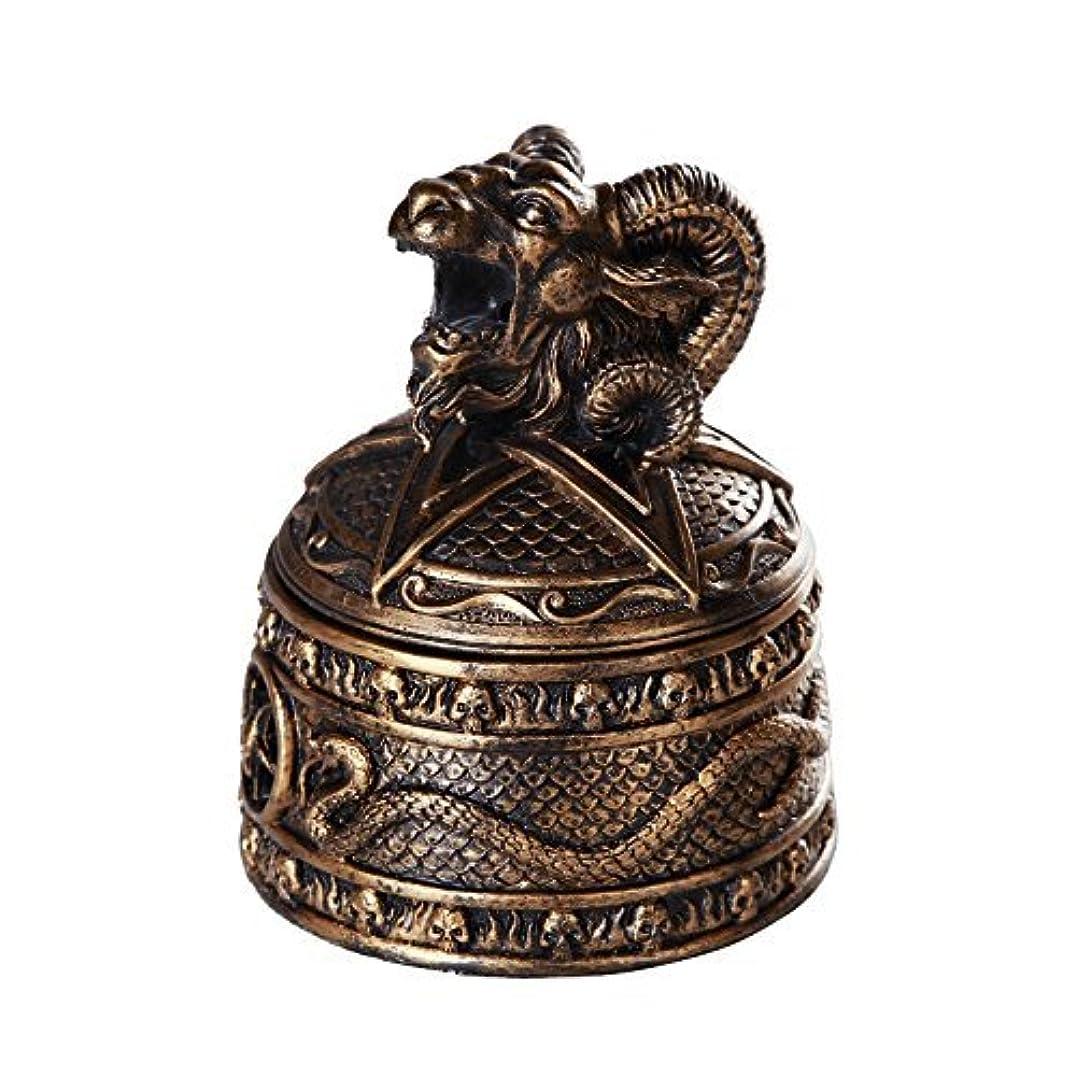 不十分集団アトムバフォメットHorned Sabbatic Goat解決et Coagula Cone Incense Burnerボックス