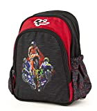 MotoGP Schulrucksack/Backpack mit 2 Reißverschlussfächern 18MGP-903-RD Mochila Escolar 35 Centimeters Multicolor (Red, Black)