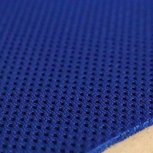 TODA 3D Air Mesh Matratzenunterlage Polsterunterlage 3mm Abstandsgewirke Netzgewirke Netzfutter Stoff Innenfutter luftzirkulierend atmungsaktiv (Blau, 140 x 200 cm)