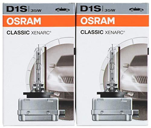 Osram 66140CLC XENARC ORIGINAL D1S HID Xenon-Brenner, Ersatzlampe, Erstausrüsterqualität OEM Faltschachtel (2 Stück)