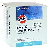 Emser Nasenspülsalz physiologisch zur Vorbeugung von Erkältungen, Allergien und zur Nasenpflege / 50 x 2,5 g Beutel