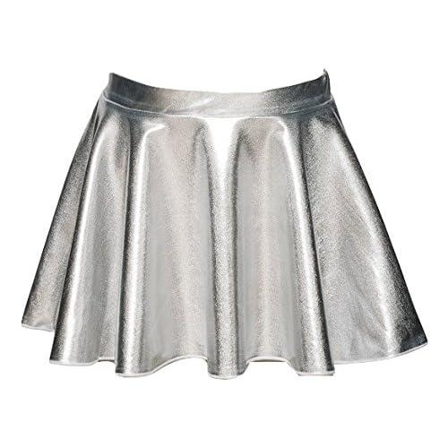 e92917263 Metallic Skirt: Amazon.co.uk