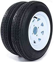 Roadstar 2 New Trailer Tires & Rims 4.80-12 480-12 4.80 X 12 12