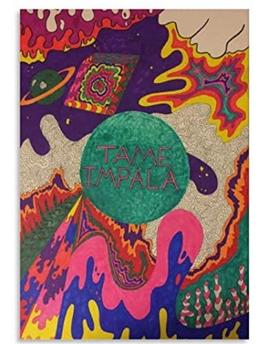 JCYMC Tame Impala Posters Wood Jigsaw Puzzle 1000 Piezas Juguetes para Adultos Juego De Descompresión Vq300Zw