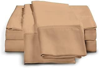 eLuxurySupply 4-Piece Bamboo Sheet Set - Ultra Soft 100% Rayon from Bamboo King Gold BambooKINGGOLD