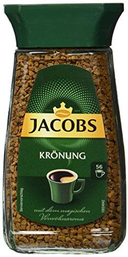 Jacobs löslicher Kaffee Krönung, 100 g Instant Kaffee
