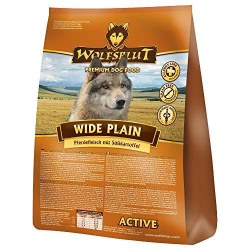 Wolfsblut | Wide Plain Active | 15 kg | Pferd | Trockenfutter | Hundefutter | Getreidefrei