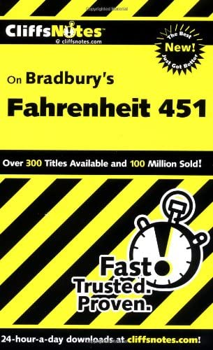 CliffsNotes on Bradbury s Fahrenheit 451 product image